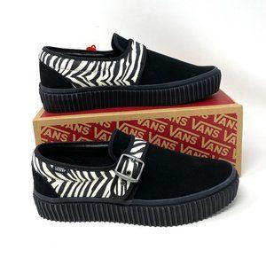 Vans Style 45 Creeper Suede Zebra Black Sneakers M